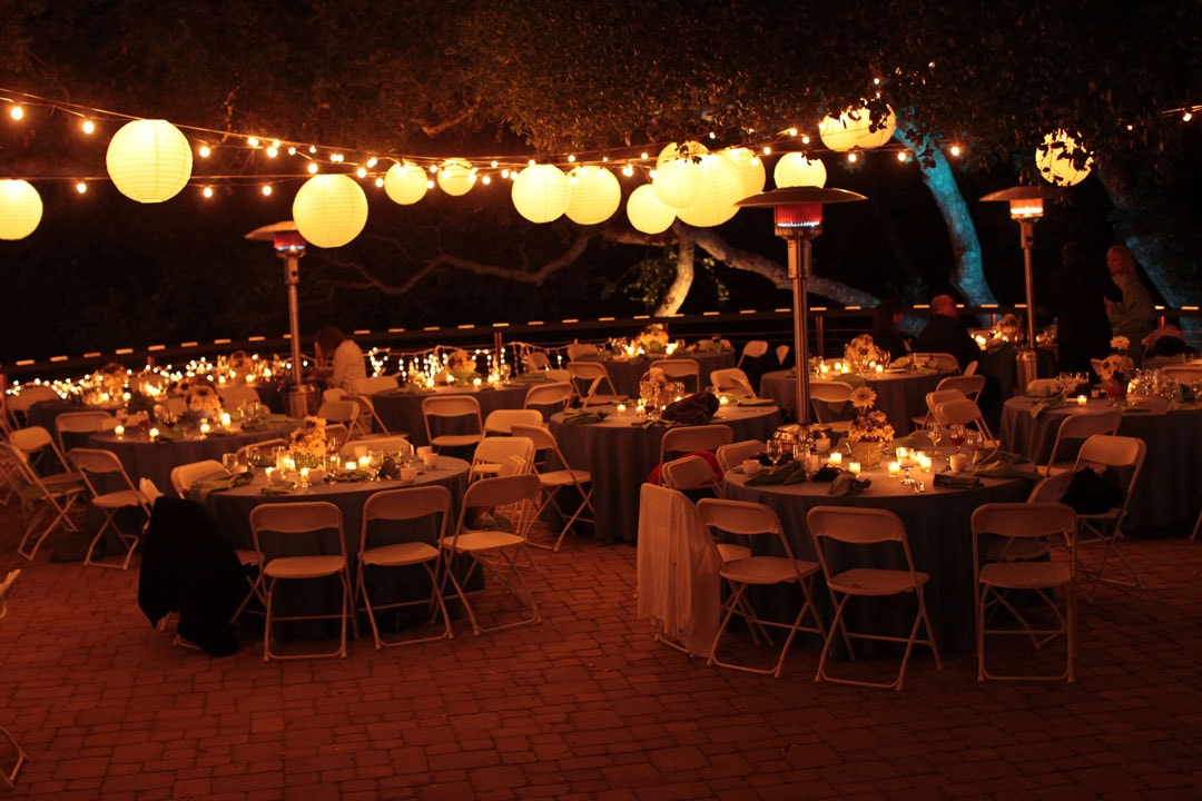 String Lights For Events : San Luis Obispo Event String Lights & Lanterns Kramer Events