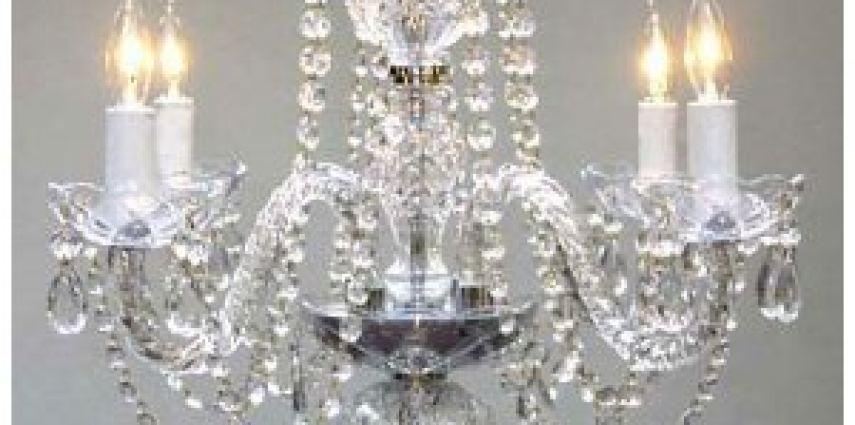 Crystal Chandelier Rental for San Luis Obispo Weddings | Kramer Events