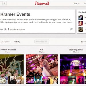 Kramer Events Wedding Pinterest