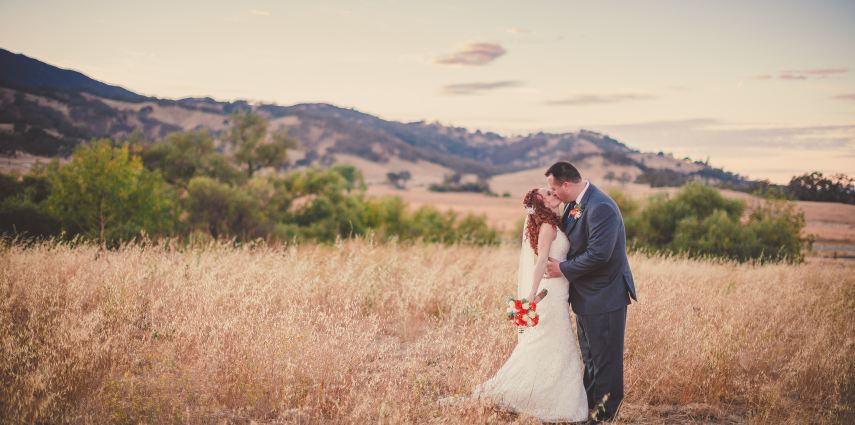 Real Wedding Stories: Elisa and Ryan, Santa Margarita Ranch