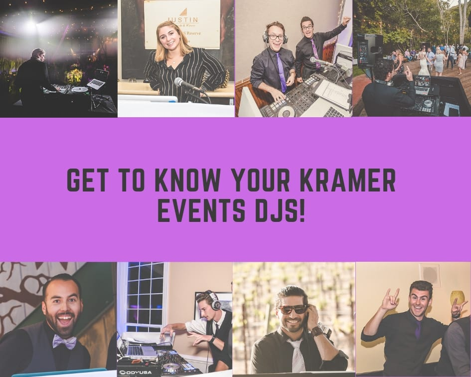 Get to Know Your Kramer Events DJs