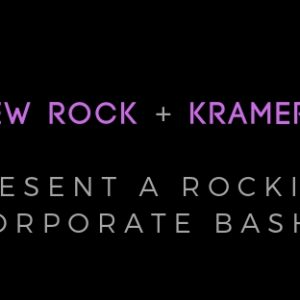 Slo Brew Rock, Kramer Events, Corporate Party