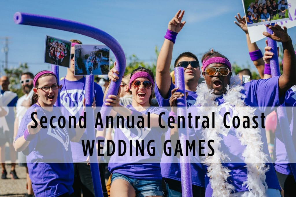 Second Annual Central Coast Wedding Games