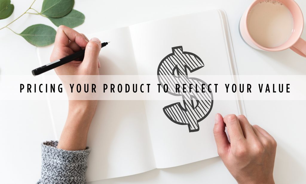 Corinne's Corner | Pricing Your Product