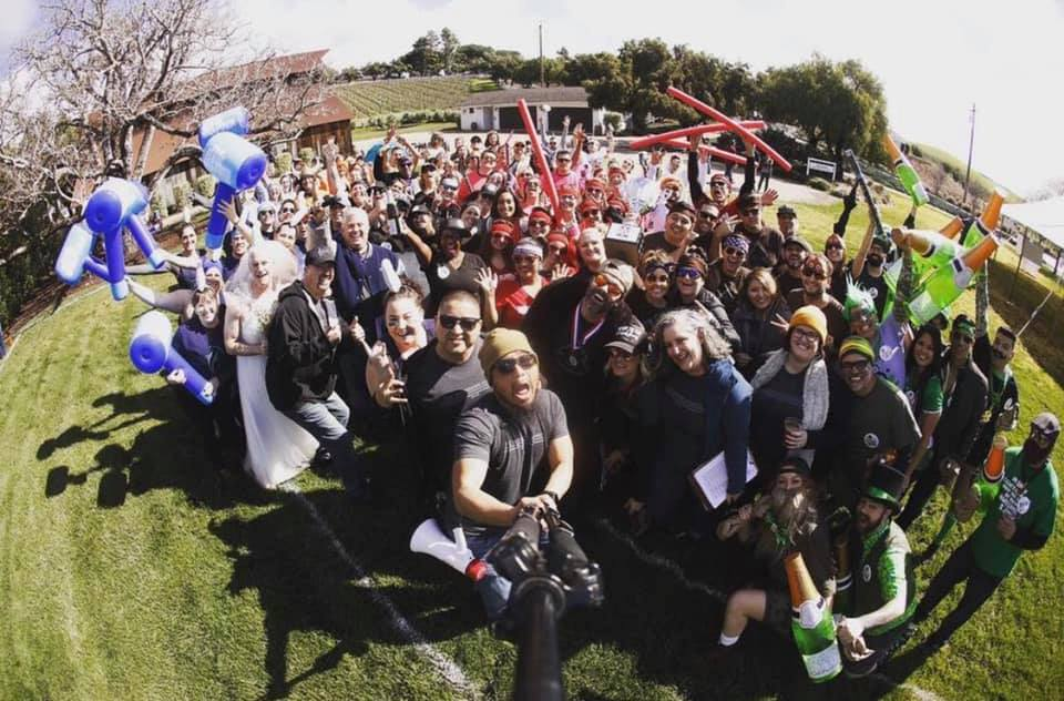 Central Coast Wedding Games, Kramer Events, Central Coast Wedding Industry