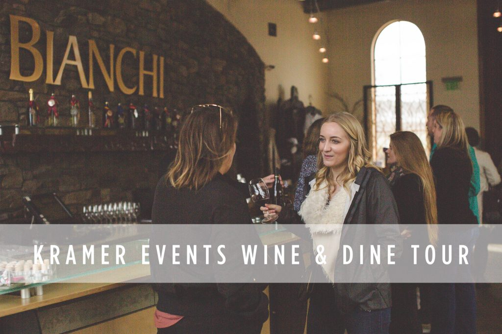 Kramer Events Wine & Dine Tour, Bianchi Winery